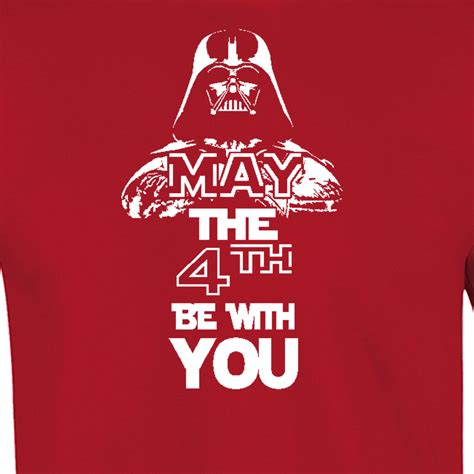 Mat The 4th Be With You - may the 4th be with you mens american apparel t shirt