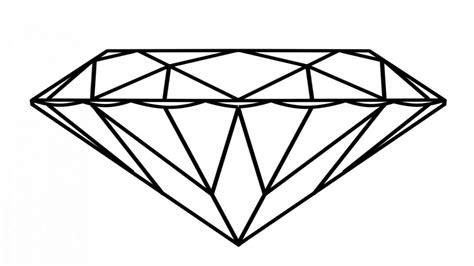 diamond coloring page  getdrawings