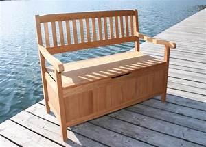 Gartenbank 80 Cm Breit : gartenbank truhenbank aus fsc eukalyptus 2 sitzig 107 cm breit ~ Bigdaddyawards.com Haus und Dekorationen