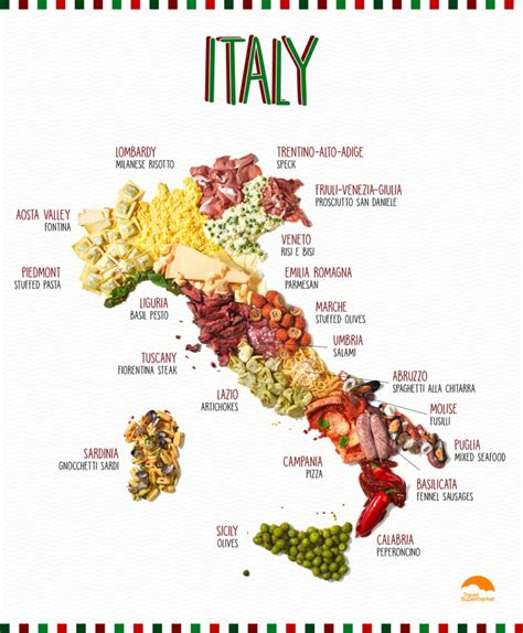 cuisine by region infographic putting cuisine on the map foodie