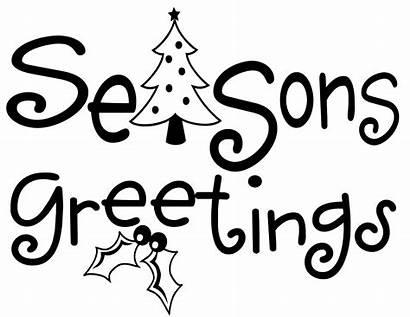 Greetings Seasons Clipart Season Greeting Clip Christmas