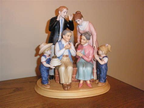 home interior denim days figurines denim days home interior family figurine in box