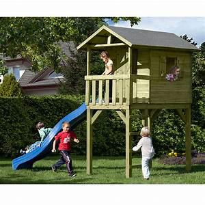 Baumhaus Für Kinder : stelzenhaus justin baumhaus spielhaus f r kinder holz ebay ~ Orissabook.com Haus und Dekorationen