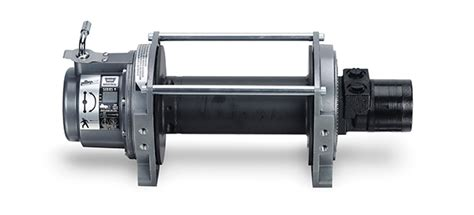towing winches hydraulic recovery winches warn industries go prepared