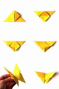 Origami Schmetterling Anleitung : origami zu ostern falten 10 einfache und h bsche ideen mit anleitung ~ Frokenaadalensverden.com Haus und Dekorationen