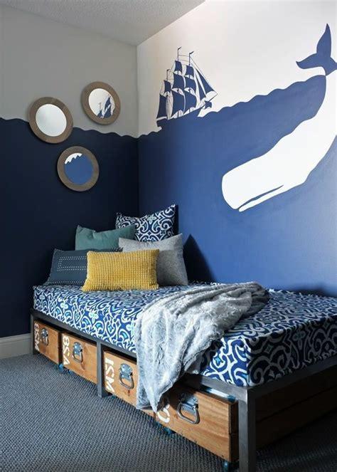 Kinderzimmer Junge Meer by Die Besten 25 Wandgestaltung Kinderzimmer Ideen Auf