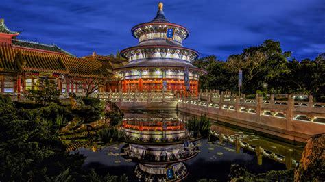 China Pavilion, Walt Disney World Resort wallpaper - backiee