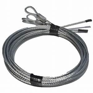 cable pour porte de garage longueur 3 a 7 metres With cable porte de garage sectionnelle cassé