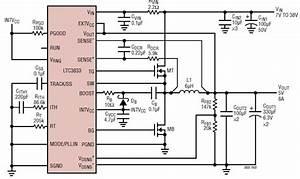 5 Volt Dc Power Supply Using Ltc3833 Regulator Circuit