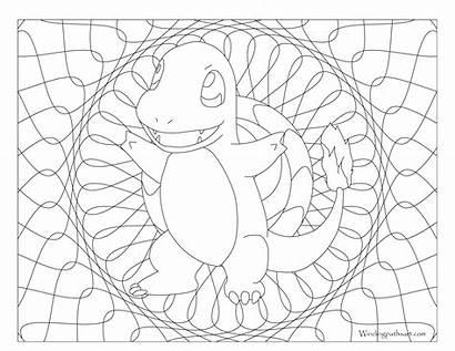 Pokemon Coloring Pages Adults Charmander Getdrawings