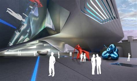 une extension ultra moderne pour le mus 233 e d architecture