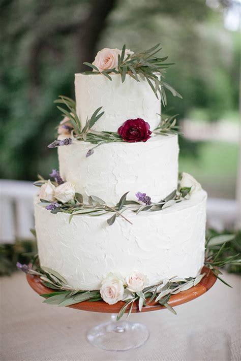 garden themed winter wedding  layer cake