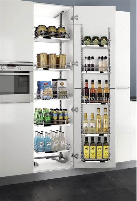 kitchen cabinet pantry unit higold tandem pantry unit pull out basket buy pull out 5649