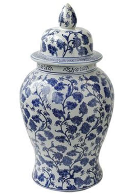 blue ginger jar ls 18in 24in blue white ginger jars home accessories