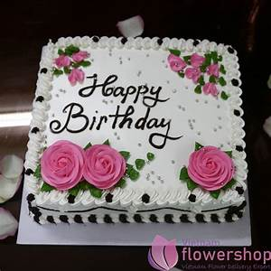 Happy birthday cake in Hanoi Vietnam