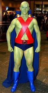 Cosplay - Martian Manhunter | Busts | Pinterest