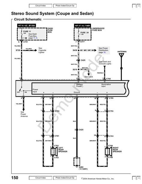 Need The Radio Wiring Diagram For Honda Accord