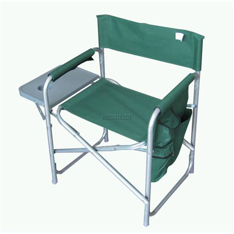 cing chair with side table portable folding chair with side table picnic time