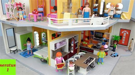 Playmobil Modernes Wohnhaus 9266 Komplett Eingerichtet