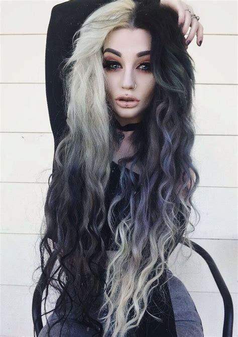 Best 20 Half Dyed Hair Ideas On Pinterest Crazy Colour