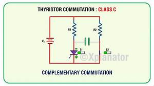Class C   Complemenatry Commutation For Thyristor Scr