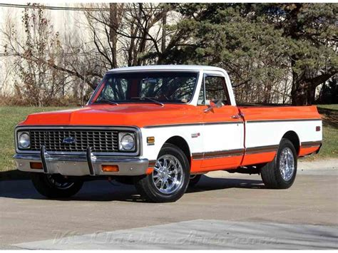 1971 Chevrolet C10 by 1971 Chevrolet C10 Cheyenne Restored With 502v8 For