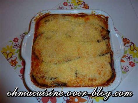 recette cuisine express recettes de moussaka et cuisine express