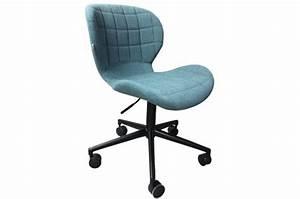 Chaise De Bureau Bleu : chaise de bureau omg bleu fauteuil chaise de bureau ~ Teatrodelosmanantiales.com Idées de Décoration