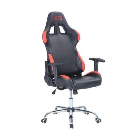 fauteuil de bureau baquet noir et achat vente si 232 ge gaming fauteuil de bureau baquet