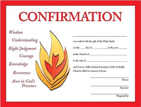 print    confirmation certificates designed