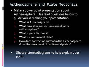 2 1d Asthenosphere And Plate Tectonics Research