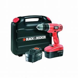 Batterie Black Et Decker 18v : perceuse visseuse 18v black et decker ~ Dailycaller-alerts.com Idées de Décoration