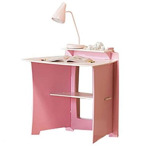 legare pink and white desk legare princess student desk set in pink and white ip sd