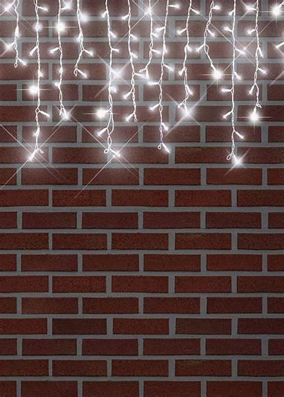 Lights Icicle Sparkling Drop Cool Led Outdoor