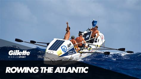 Rowing The Atlantic With Ocean Reunion  Gillette World