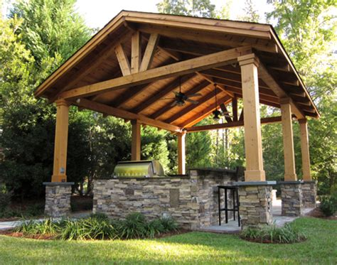 This Custom Outdoor Structure Is A Great Place For