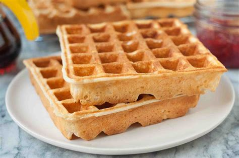buttermilk waffle recipe an easy classic simplyrecipes com