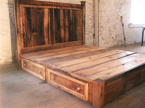 floating nightstand with drawer best 25 rustic platform bed ideas on platform
