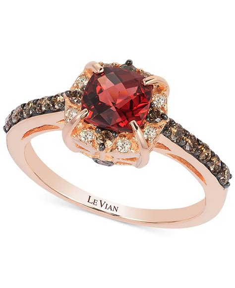 Lyst  Le Vian Garnet (116 Ct Tw) And Diamond (38 Ct. Unrefined Engagement Rings. Snowflake Engagement Rings. 2mm Wedding Rings. Beautiful Dress Rings. Tanner Wedding Rings. Snow Queen Rings. Royal Solitaire Engagement Rings. Titanium Engagement Rings