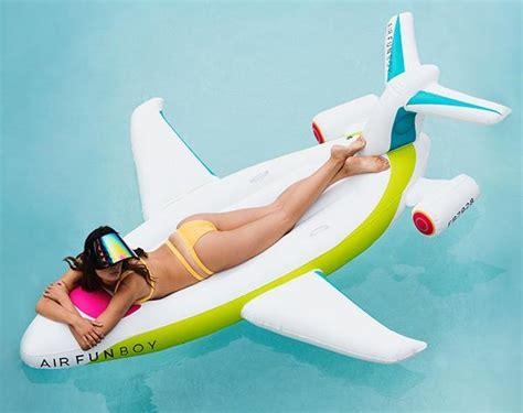 plane für pool funboy jet float funboy