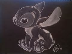 Chalk Art On White Paper