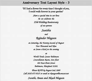 anniversary invitation wording quotes choice image With 25th wedding anniversary invitations quotes