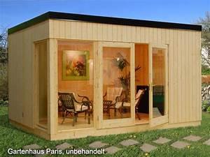 Gartenhaus Mit Glasfront : palmako gartenhaus paris 18 70 iso 4 53 x 3 30 m komplettbausatz ~ Markanthonyermac.com Haus und Dekorationen
