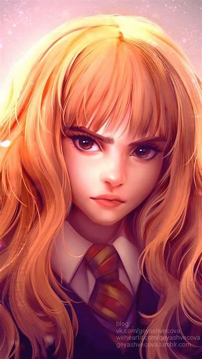 Harry Potter Cartoon Girly Drawing Pretty Korean
