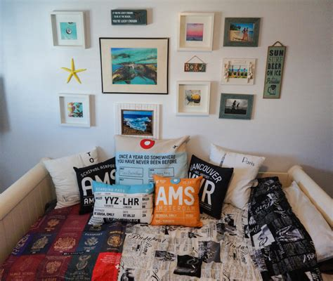 travel decor  travel inspired room airplanes avocados