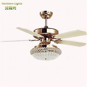 Led modern wrongt iron ceiling fan light fashion antique
