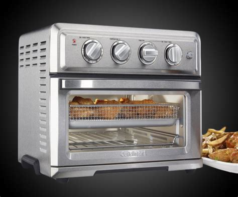 fryer oven toaster cuisinart air kitchen food appliances oil ovens convection rotisserie cooking dudeiwantthat pizza frier toasters plus additional household