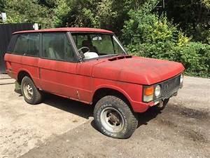 Land Rover Range Rover Classic 1970 U0026 39 S Two Door Barn Find