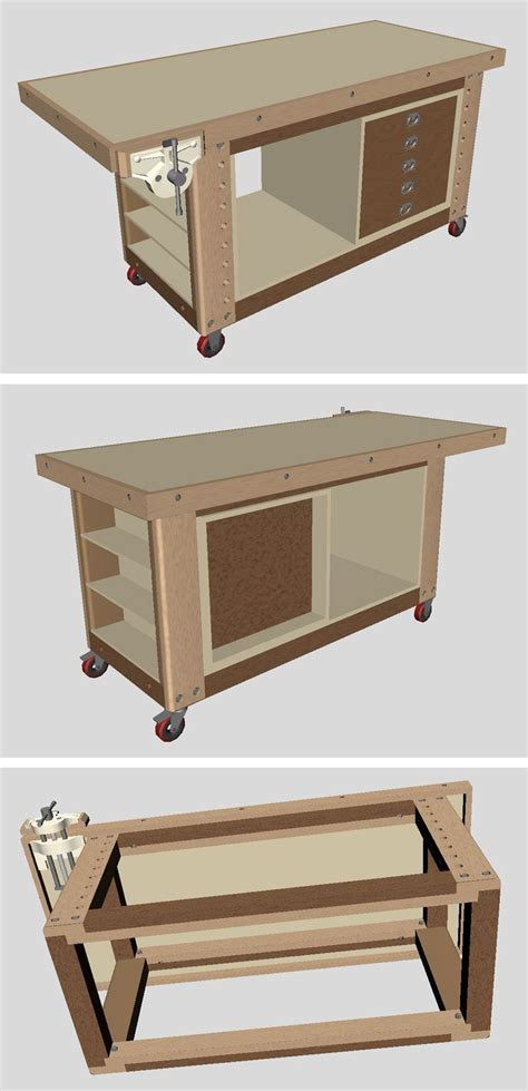 workbench project  ideas lots   woodworking