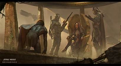 Wars Star Reimagined Galaxy Nicolas Gekko Gives